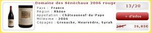 Soldes-DomainedesSenechaux2006rouge