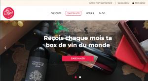 My winey journey : box vins du monde