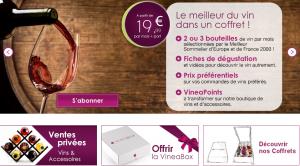 Vineabox : Box vin 3 bouteilles
