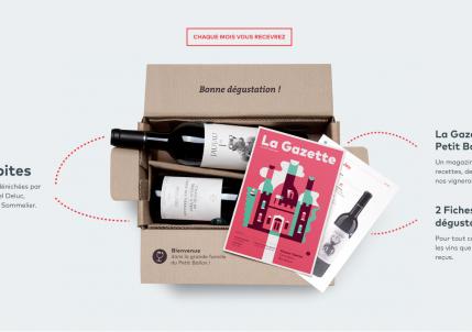 Le Petit ballon : La box vin de Vente-privee.com