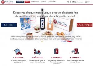 Mets Vins : du vin et des produits du terroir