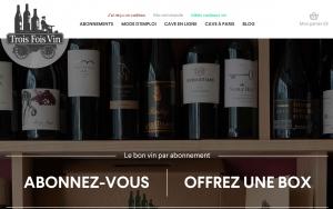 Trois fois vin : la plus ancienne des box vins