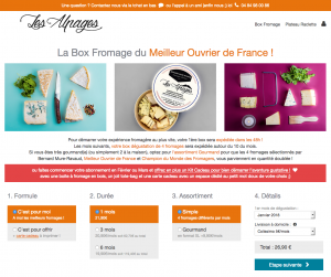 La box Les Alpages