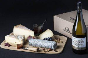 box vin et fromage La Boite du Fromager