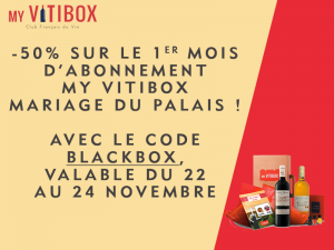 black friday 2018 Myvitibox