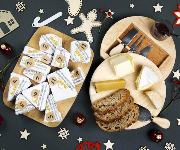 Le 1er calendrier de l'avent du fromage