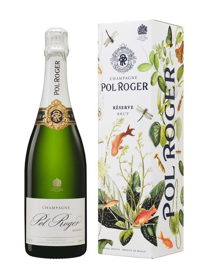 Etuis noel Champagne Pol Roger