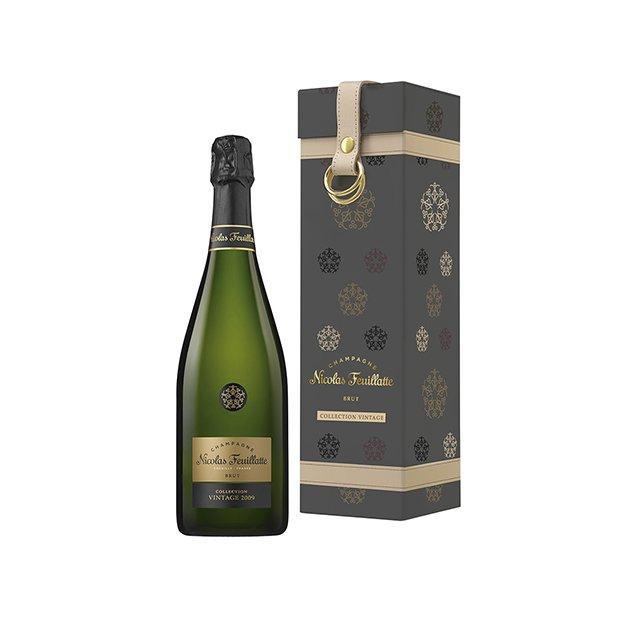Champagne Nicolas Feuillate coffret collection vintage brut 2008